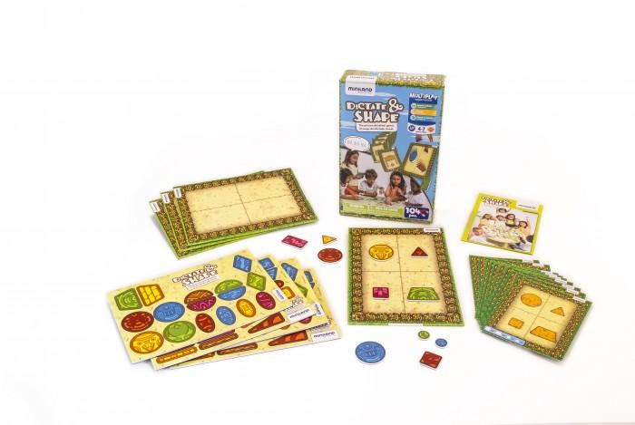 Miniland Игра для развития навыков коммуникации Объясняй и составляй фото