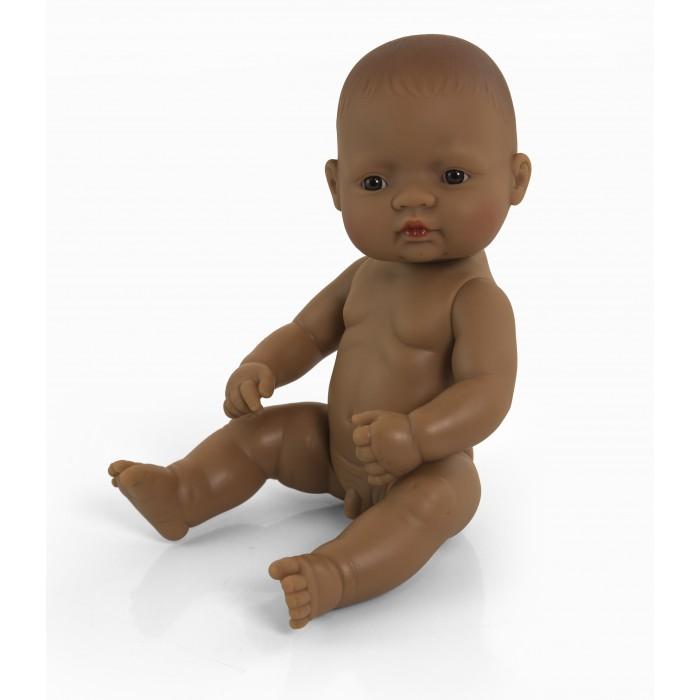 Куклы и одежда для кукол Miniland Кукла Baby Doll latinoamerican boy Polybag 32 см
