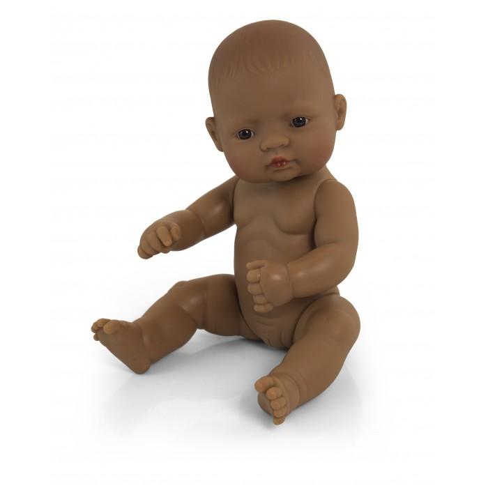 Куклы и одежда для кукол Miniland Кукла Baby Doll latinoamerican girl Polybag 32 см
