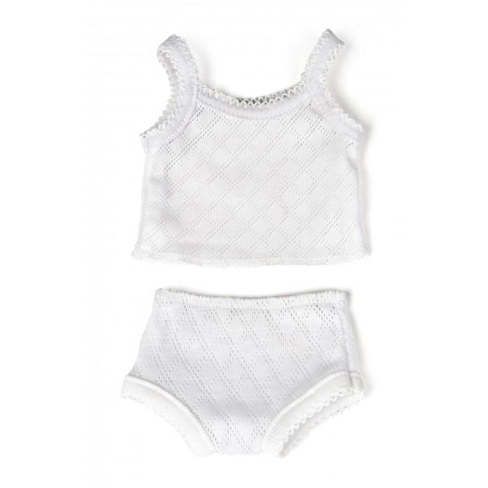 Куклы и одежда для кукол Miniland Одежда куклы Undershirt Panties 40 см