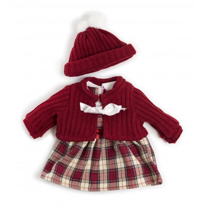 Куклы и одежда для кукол Miniland Одежда для куклы Cold weather dress set 40 см
