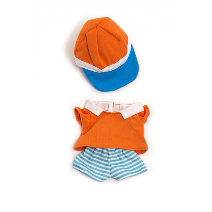Куклы и одежда для кукол Miniland Одежда куклы Warm weather polo set 21 см