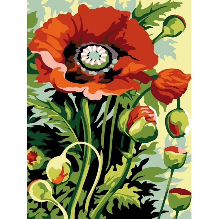 картины по номерам color kit картина по номерам розы для любимой Картины по номерам Color Kit Картина по номерам Полевой букет