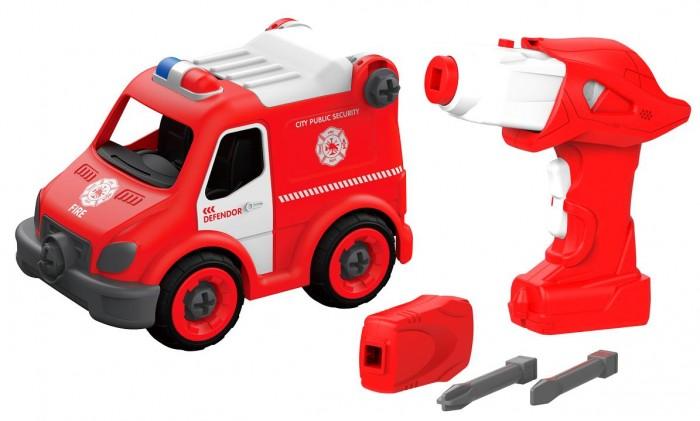Shantou Bhs Toys Набор пластмассовых деталей Карета скорой помощи с пультом ДУ фото