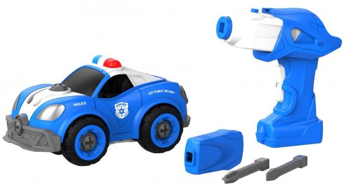 Купить Сборные модели, Shantou Bhs Toys Набор пластмассовых деталей Патрульная машина с пультом ДУ