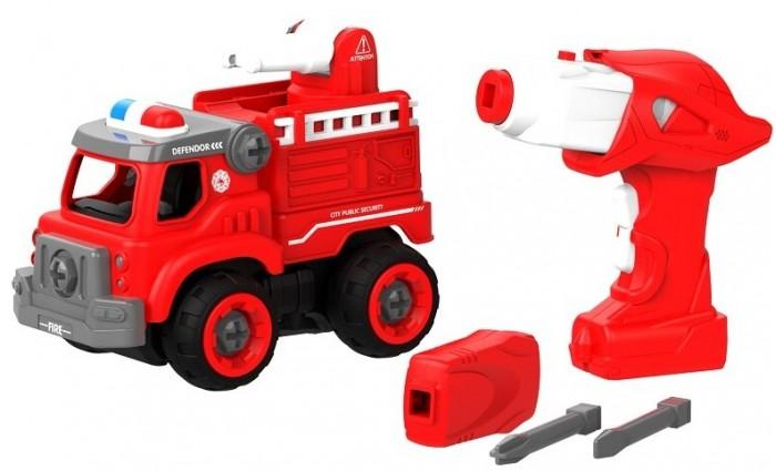 Купить Сборные модели, Shantou Bhs Toys Набор пластмассовых деталей Пожарная машина с пультом ДУ