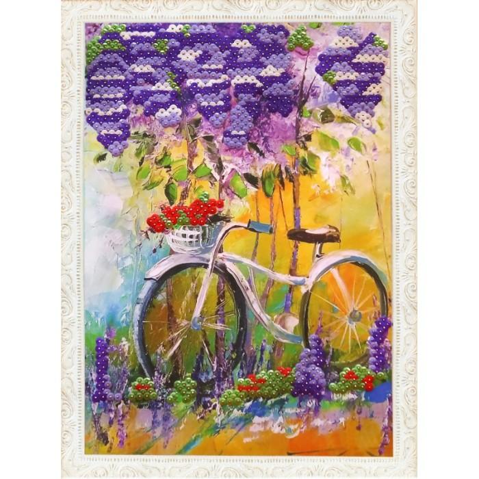 Color Kit Картина из пайеток Под сиренью фото