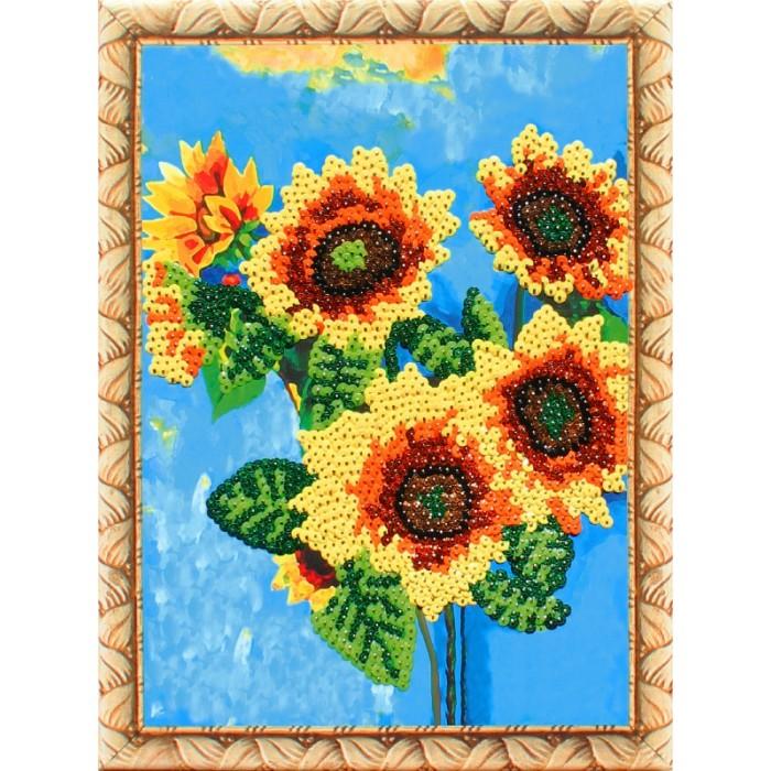 Картины своими руками Color Kit Картина из пайеток Подсолнухи картины своими руками ракета картина из пайеток индийский стиль машина набор 14