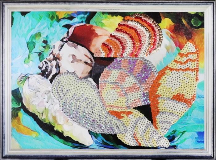 Картины своими руками Color Kit Картина из пайеток Ракушки картины своими руками ракета картина из пайеток индийский стиль машина набор 14