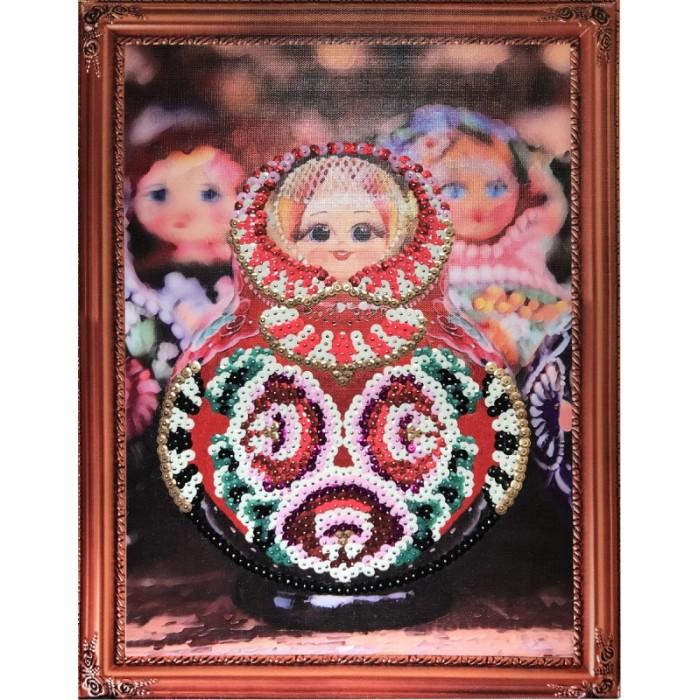 Картины своими руками Color Kit Картина из пайеток Матрешка картины своими руками ракета картина из пайеток индийский стиль машина набор 14