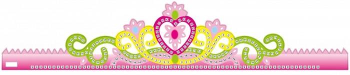 Аппликации для детей Color Kit Мозаика-стикеры Корона розовая аппликации для детей color kit мозаика стикеры познаем мир дельфины и бабочки