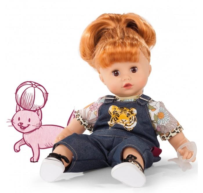 Купить Gotz Кукла Маффин рыжая в джинсовом комбезе 33 см в интернет магазине. Цены, фото, описания, характеристики, отзывы, обзоры