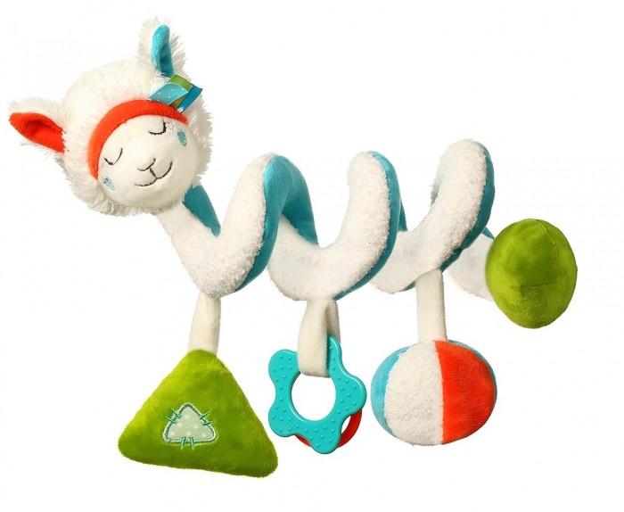 Подвесные игрушки BabyOno спиралька Lama мягкие игрушки babyono кукла zoe