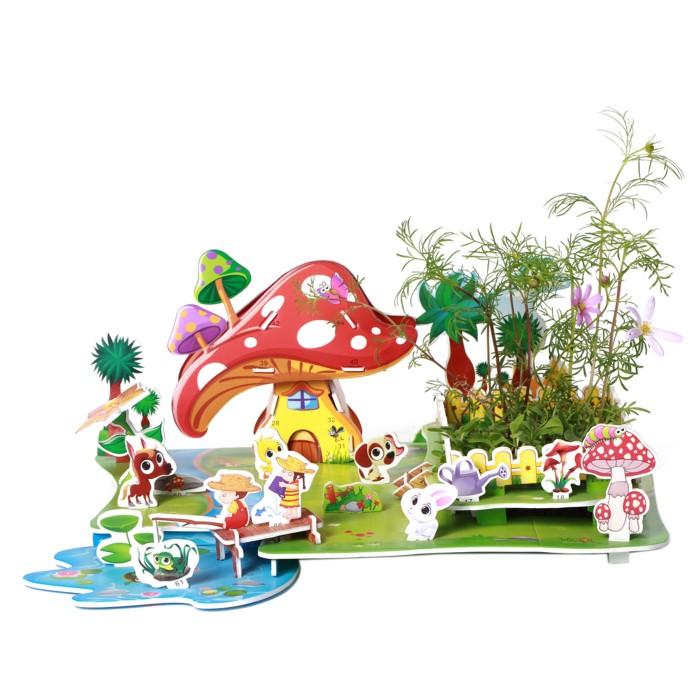 Zilipoo Живой 3D Пазл Сельский пейзаж (34 детали)