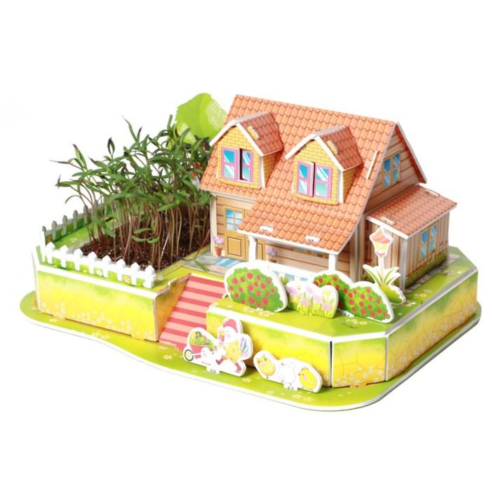 Zilipoo Живой 3D Пазл Любимый сад (22 детали)