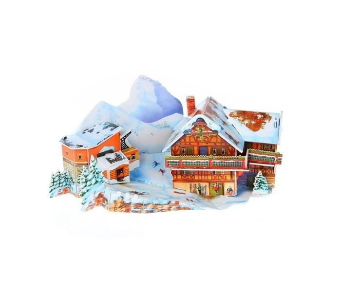 Купить Funny 3D Пазл Горнолыжный курорт (24 детали) в интернет магазине. Цены, фото, описания, характеристики, отзывы, обзоры