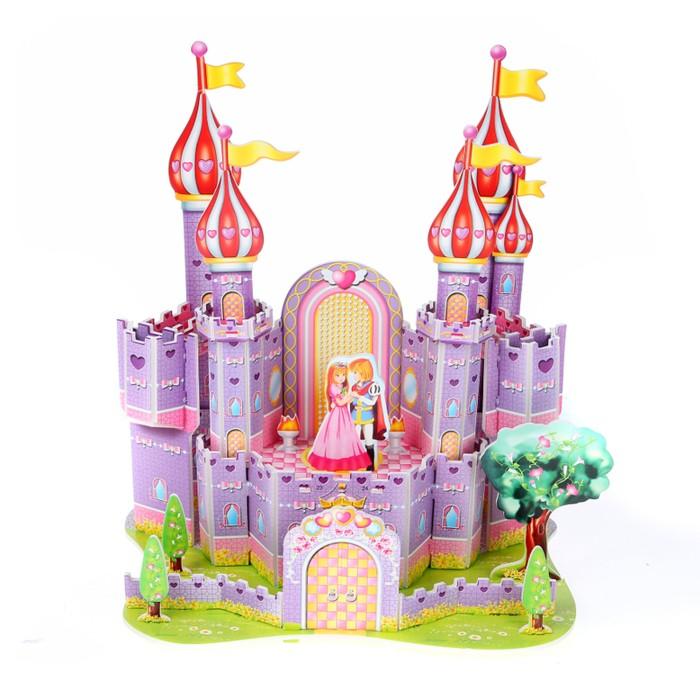 Пазлы Funny 3D Пазл Фиолетовый замок (35 деталей)