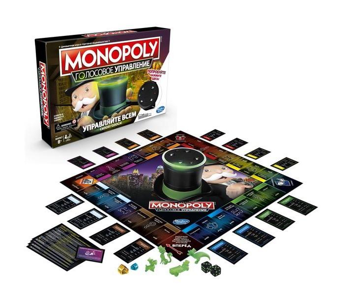 Купить Настольные игры, Hasbro Games Игра настольная Монополия голосовое управление