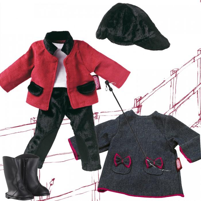 Фото - Куклы и одежда для кукол Gotz Набор одежды жокейский костюм и платье для кукол 27 см куклы и одежда для кукол miraculous кукла леди баг костюм рисунок 26 см