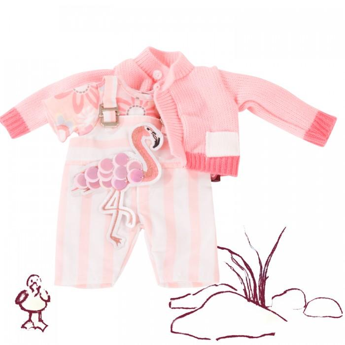 Купить Куклы и одежда для кукол, Gotz Набор одежды Фламинго для кукол 30-33 см