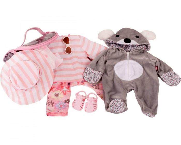 Куклы и одежда для кукол Gotz Набор одежды и аксессуаров с комбинезоном Коала для кукол 48 см куклы и одежда для кукол daisy набор кукла цветочек 9 см с аксессуарами и мопедом