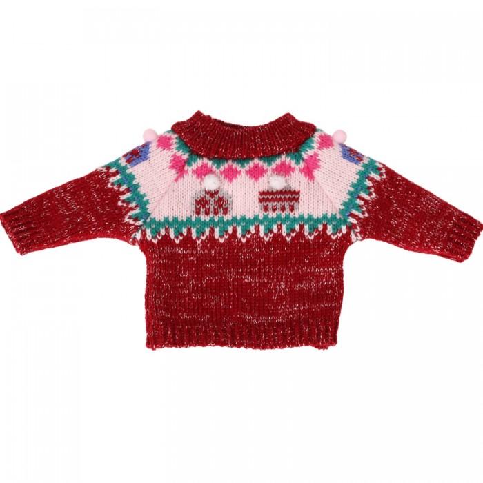 Куклы и одежда для кукол Gotz Одежда свитер с узором Шапочки для кукол 42-46 см
