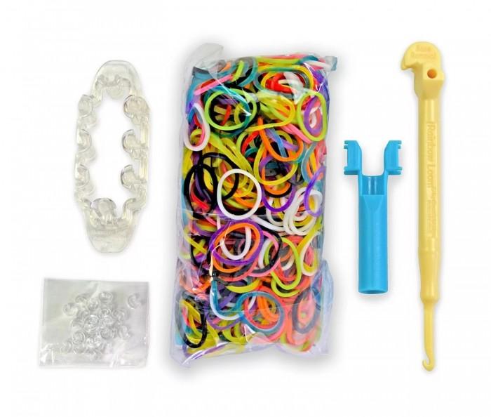 Резиночки для плетения Rainbow loom Набор для плетения браслетов Monster Tail