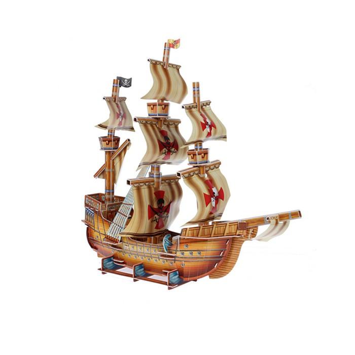 Funny 3D Пазл Пиратский корабль (79 деталей) от Funny