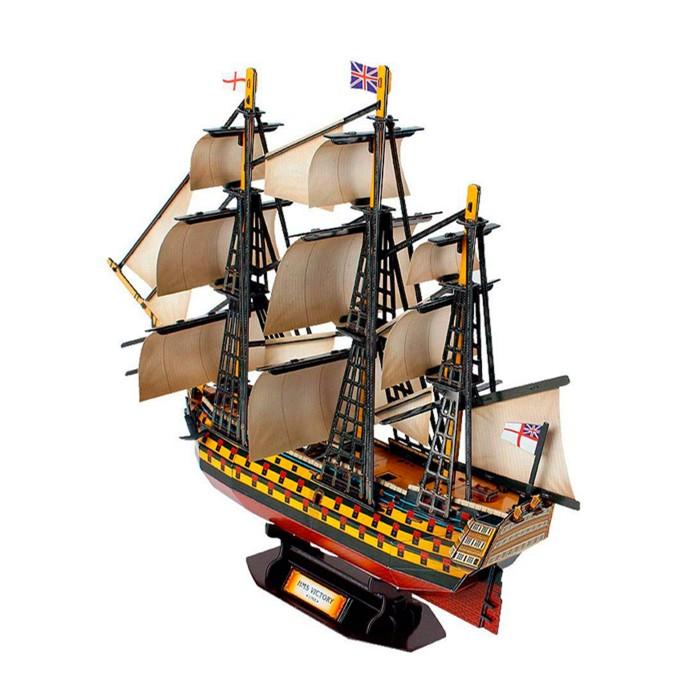 Пазлы Funny 3D Пазл Корабль Виктория (189 деталей) минус корабль