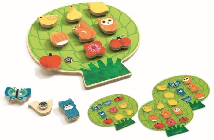 Купить Развивающие игрушки, Развивающая игрушка Djeco Шнуровка Клипаклип