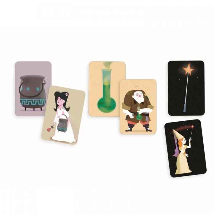 Картинка для Djeco Настольная карточная игра Школа волшебников