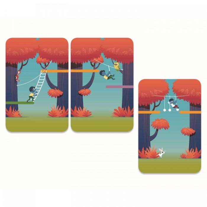 Картинка для Djeco Настольная карточная игра Лесное приключение