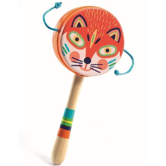 Купить Музыкальные инструменты, Музыкальный инструмент Djeco Деревянный ручной барабан