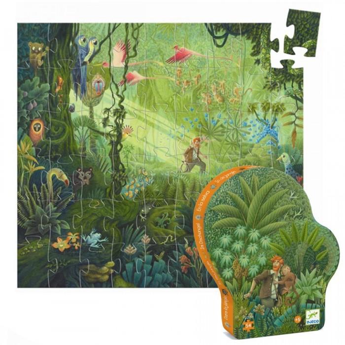 Картинка для Djeco Пазл В джунглях (54 элемента)