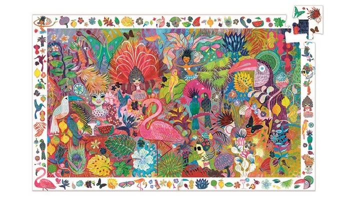 Картинка для Djeco Пазл на наблюдательность Карнавал в Рио (200 элементов)
