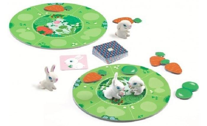 Картинка для Djeco Настольная игра Маленький кролик