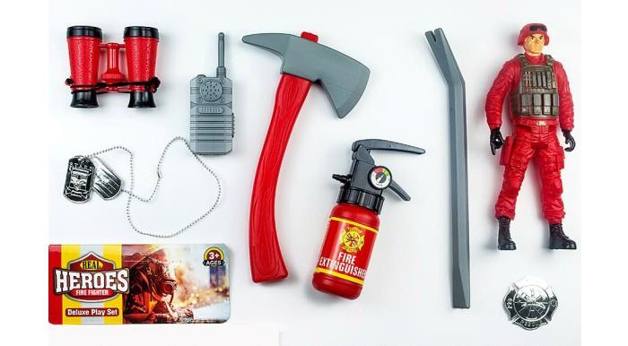 Игровые наборы Junfa Набор пожарного 99037