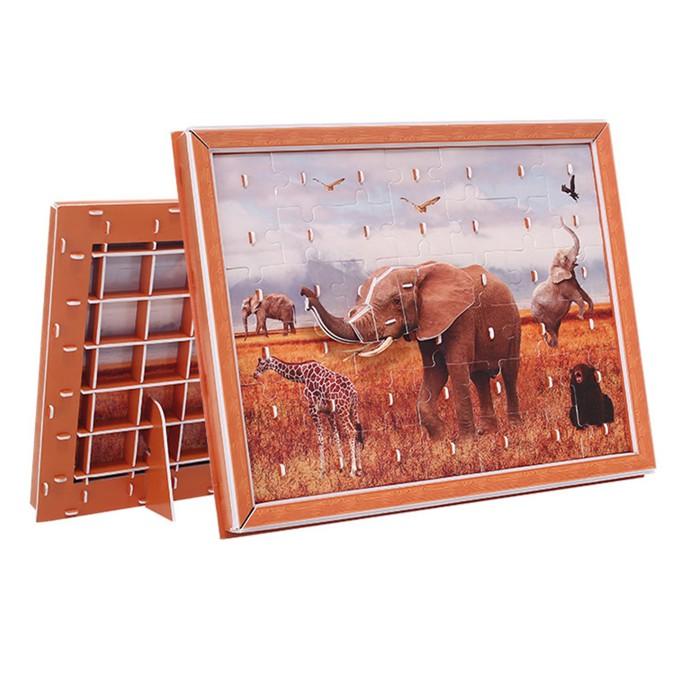 Zilipoo 3D картина Слон (42 детали)