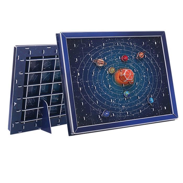 Купить Пазлы, Zilipoo 3D картина Солнечная система (57 деталей)