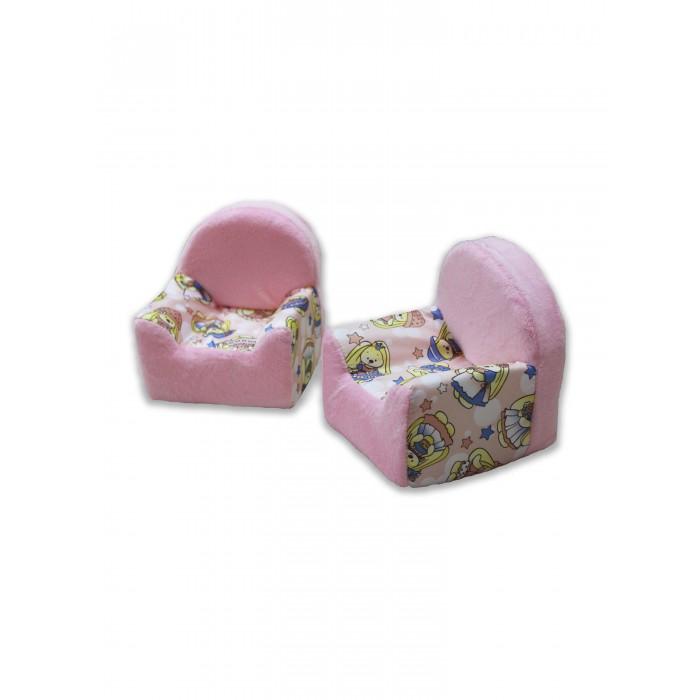 аксессуары для мебели Кукольные домики и мебель Росимпел Набор мебели Милая зайка 2 кресла