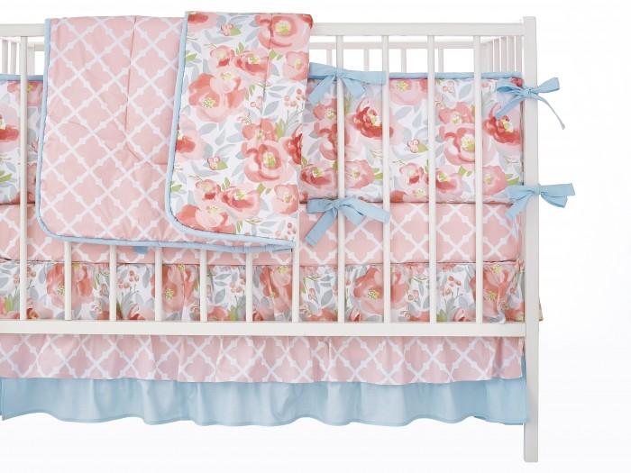 Бортик в кроватку Mom'Story Design Английские Розы фото