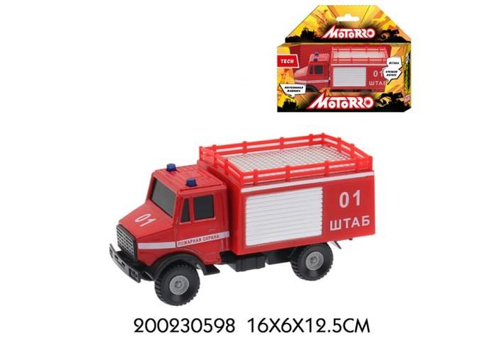 Машины Motorro Машинка металлическая Пожарная охрана 1:43