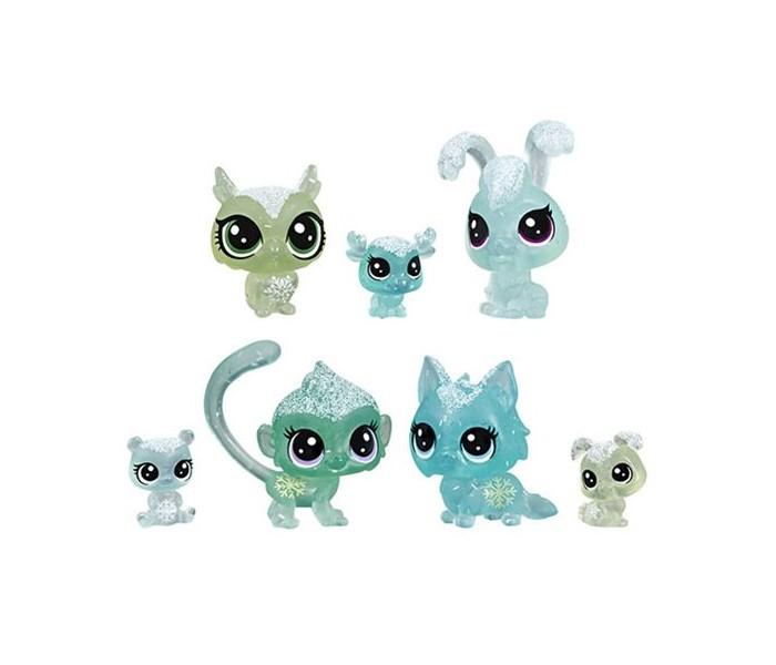 Картинка для Игровые фигурки Littlest Pet Shop Игровой набор 7 петов Холодное царство