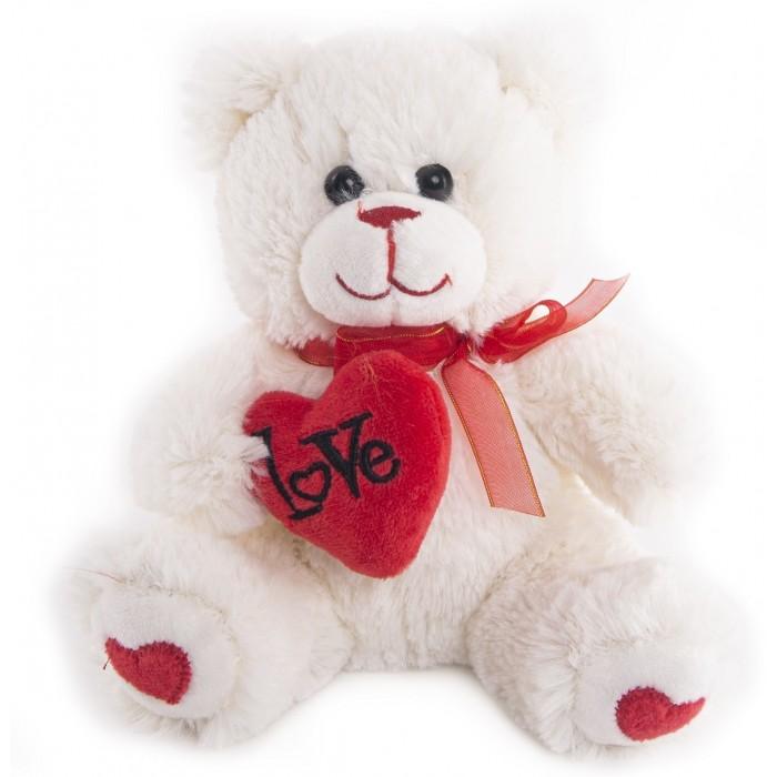 цена на Мягкие игрушки Button Blue Мишка Гарри с сердечком 20 см