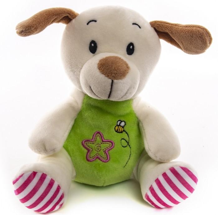 цена на Мягкие игрушки Button Blue Собачка с принтом 20 см