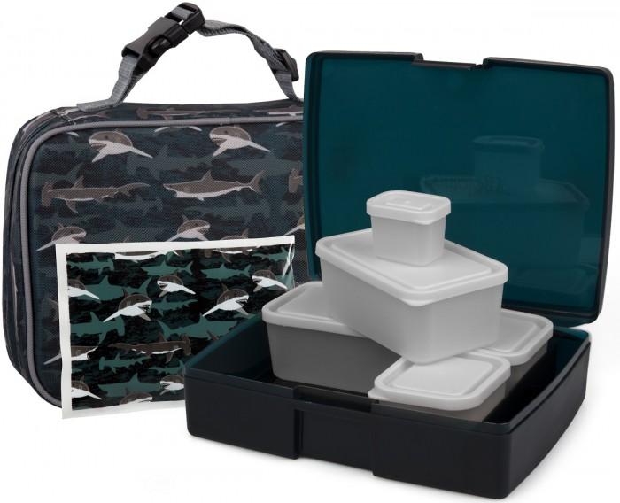 Купить Bentology Сумка для ланча Sharks с набором ланч-боксов и хладоэлементом в интернет магазине. Цены, фото, описания, характеристики, отзывы, обзоры