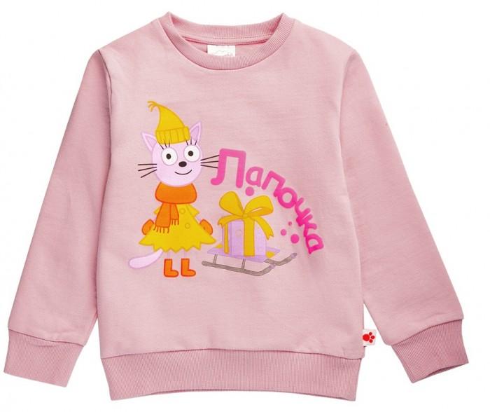Купить Frutto Rosso Свитшот для девочки Три кота Лапочка в интернет магазине. Цены, фото, описания, характеристики, отзывы, обзоры