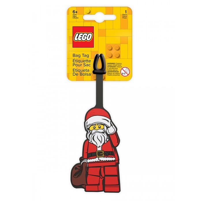 Детские чемоданы Lego Classic Бирка для багажа Santa Claus
