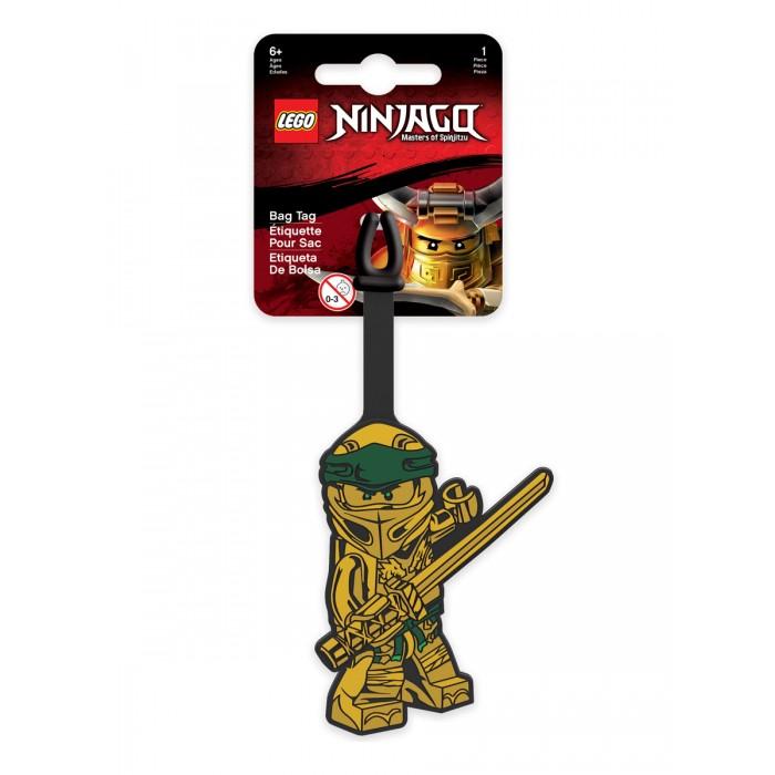 Купить Lego Ninjago Movie Бирка для багажа Gold Ninja в интернет магазине. Цены, фото, описания, характеристики, отзывы, обзоры