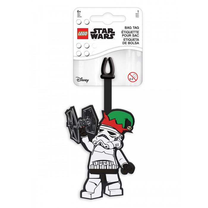 Детские чемоданы Lego Star Wars Бирка для багажа Chewbacca Holiday